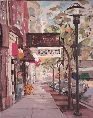 Bogarts Corryville, Cincinnati Oil on canvas, 16 x 20 , October