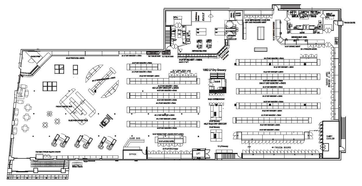 gallery for gt supermarket floor plan pdf