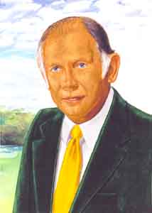 Dick Foster Oil Portrait